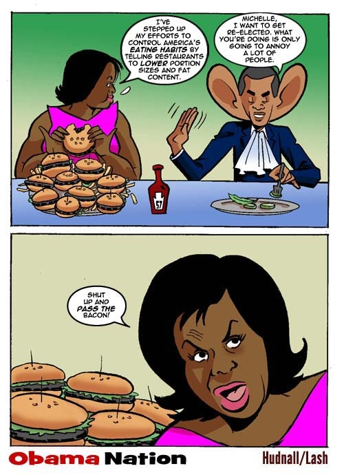Michelle Obama is fat