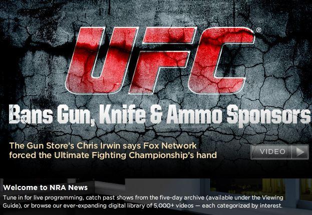 NRA News UFC Banner